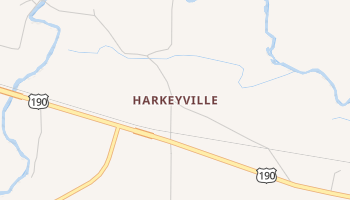 Harkeyville, Texas map