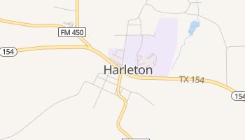 Harleton, Texas map