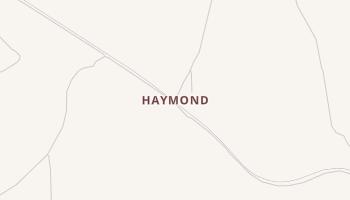 Haymond, Texas map