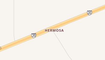 Hermosa, Texas map