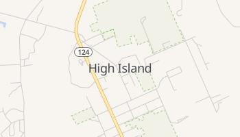 High Island, Texas map