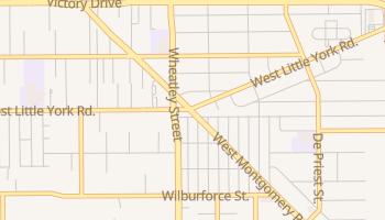 Highland Heights, Texas map