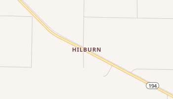 Hilburn, Texas map