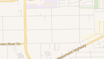 Houmont Park, Texas map
