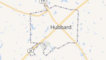 Hubbard, Texas map