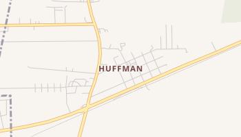 Huffman, Texas map