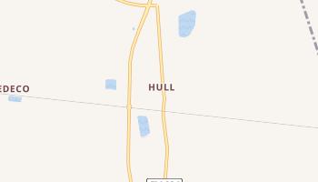 Hull, Texas map