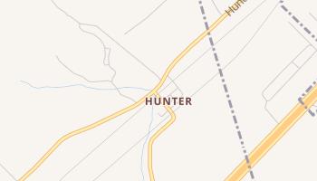 Hunter, Texas map