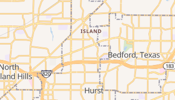 Hurst, Texas map