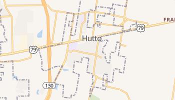 Hutto, Texas map