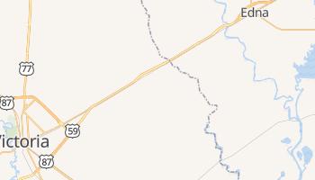 Inez, Texas map