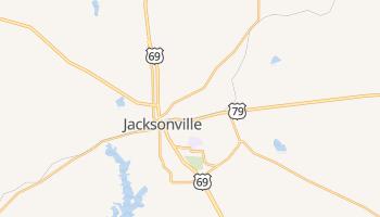 Jacksonville, Texas map
