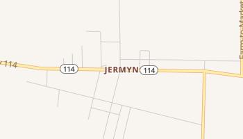 Jermyn, Texas map