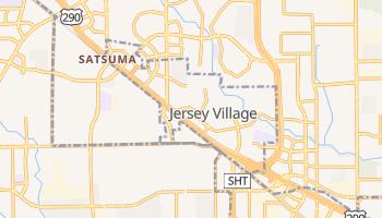 Jersey Village, Texas map