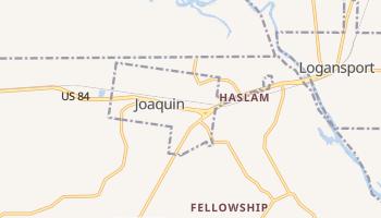 Joaquin, Texas map