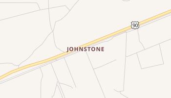 Johnstone, Texas map