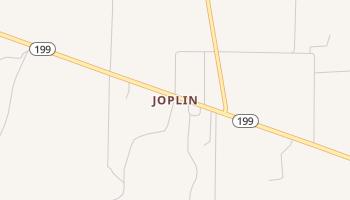 Joplin, Texas map