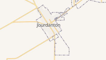 Jourdanton, Texas map
