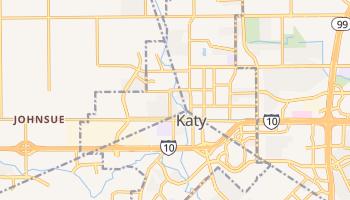 Katy, Texas map