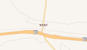 Kent, Texas map