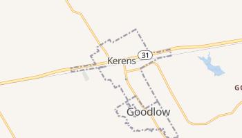 Kerens, Texas map