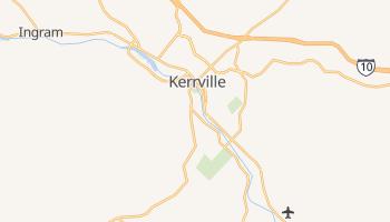 Kerrville, Texas map