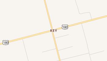 Key, Texas map
