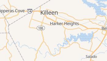 Killeen, Texas map