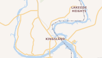 Kingsland, Texas map