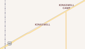 Kingsmill, Texas map