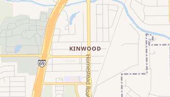 Kinwood, Texas map