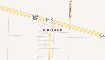 Kirkland, Texas map