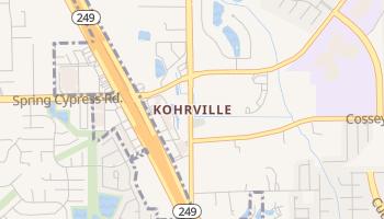 Kohrville, Texas map