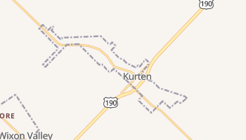Kurten, Texas map