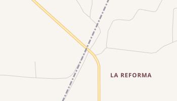 La Reforma, Texas map