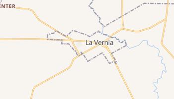 La Vernia, Texas map