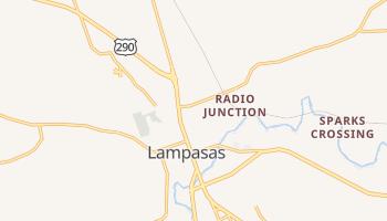 Lampasas, Texas map