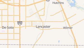 Lancaster, Texas map