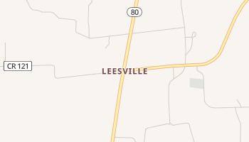 Leesville, Texas map
