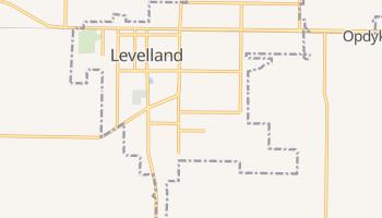 Levelland, Texas map
