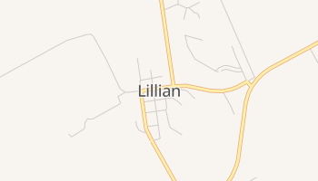 Lillian, Texas map