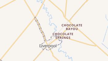 Liverpool, Texas map