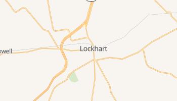 Lockhart, Texas map