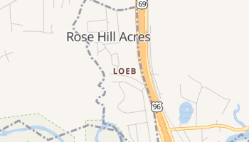 Loeb, Texas map