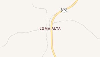 Loma Alta, Texas map