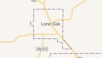 Lone Oak, Texas map