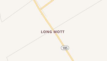 Long Mott, Texas map