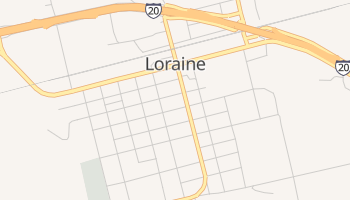 Loraine, Texas map