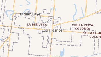Los Fresnos, Texas map