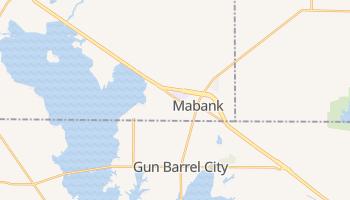 Mabank, Texas map